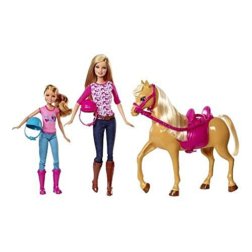 Barbie CCT25 - Muñeca y Caballo
