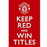 GB Eye Maxi-Poster Manchester United, Keep Red, 61 x 91,5