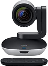Logitech PTZ PRO 2 Video Camera for Conference Rooms, HD 1080p Video - Auto-focus USB Black/Silver