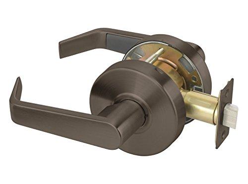 Yale AU4601LN x 613E Cylindrical Lockset, Grade 2, Passage Function, Non-Locking, 2 3/4