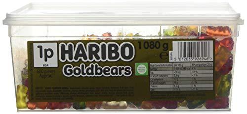 Haribo Gold Bears hidromasaje para niños Retro Sweets - 600 de la