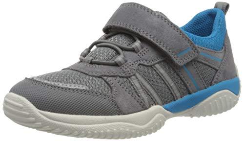 Superfit Jungen STORM Sneaker, Grau (Hellgrau/Blau 25), 28 EU