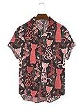 SSBZYES Camisas para Hombres Camisas De Verano De Manga Corta Camisas De Gran Tamaño para Hombres Camisetas para Hombres Camisas Estampadas Camisas Informales De Playa Tops para Hombres