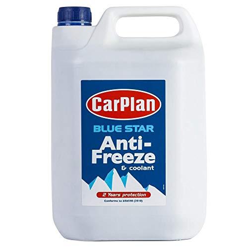 CarPlan Blue Star Antifreeze & Coolant Concentrate - 5L