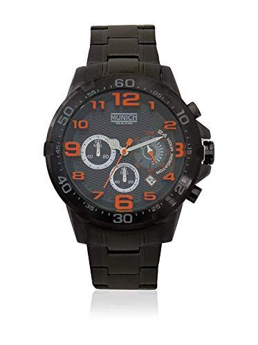 Munich Reloj Analógico para Unisex Adultos de Cuarzo con Correa en Acero Inoxidable MU+139.1B