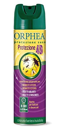 Orphea Insetticida Spray Insettorepellente Universale Contro Insetti Volanti e Striscianti, 500ml