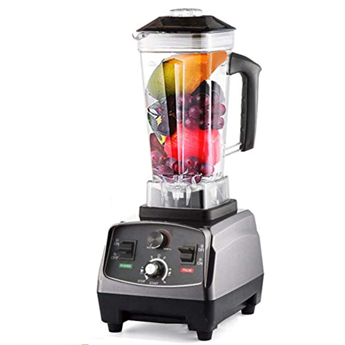WLIXZ Professional Countertop Blender with 2200W Base and Recipe Booklet, for Frozen Drinks and Smoothies