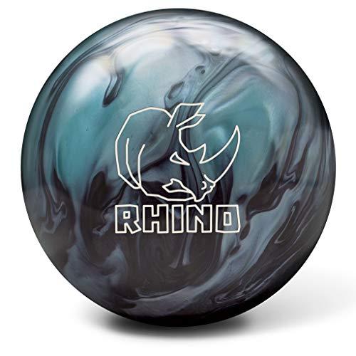 Brunswick Bowlingball RHINO div. Farben und div. Größen (Metallic Blue/Black, 15 Lbs