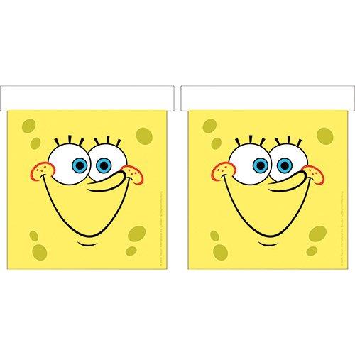 Nickelodeon Party BANDIERINE RETTANGOLD 1180 Festa Spongebob ADDOBBI