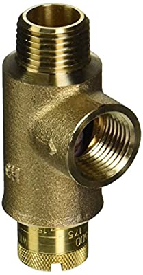 "ZURN WILKINS 12-P1500XL 2471324 P1500 Calibrated Pressure Relief Valve, 25 To 175 Psi, 1/2"" Mnpt x 1/2"" Fnpt, Lead Free from GB Industrial Direct"