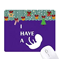 ボディ・ベイビー ゲーム用スライドゴムのマウスパッドクリスマス