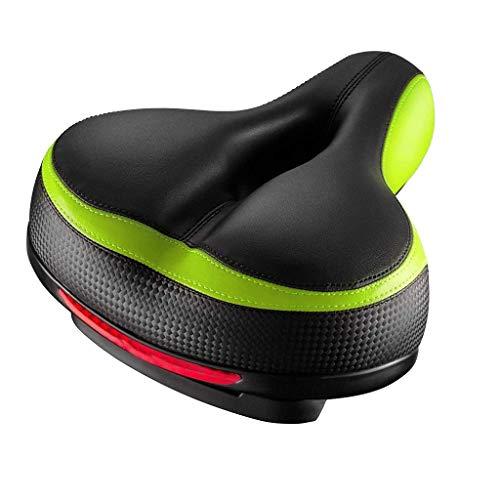 Bike Seat, 2DXuixsh Comfortable Bicycle Seat Memory Foam Waterproof Bicycle Saddle Dual Shock Absorbing - Best Stock Bicycle Seat Replacement for Mountain Bikes, Road Bikes