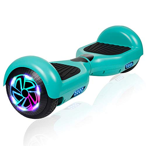 """jolege Hoverboard, 6.5"""" Two-Wheel Self Balancing Hoverboard - LED Light Wheel Scooter Hoverboard for Kids"""