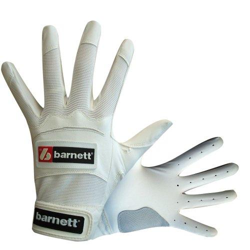 Barnett BBG-01 - Guantes de bateo de béisbol blanco blanco Talla:2XL
