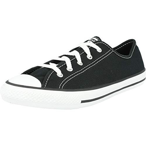 Converse Chuck Taylor All Star Dainty Ox Frauen Schwarze Sneakers-UK 7 / EU 41