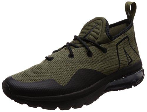 Nike Hombres Air MAX Flair 50 Bajos & Medios Cordon Zapatos para Correr, Cargo Khaki/Black, Talla 11.5