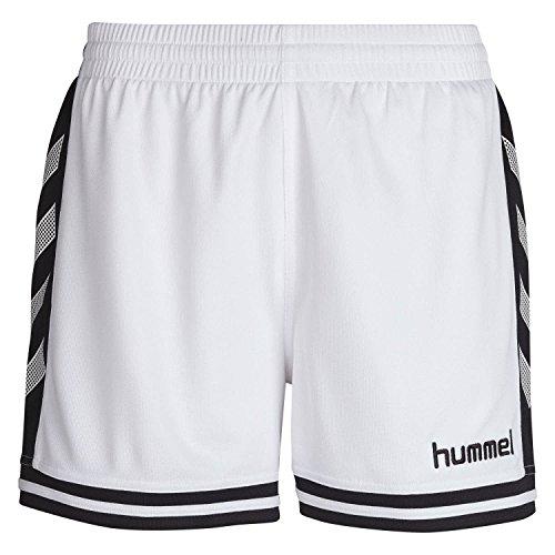 Hummel Damen Shorts SIRIUS, White/Black, XS