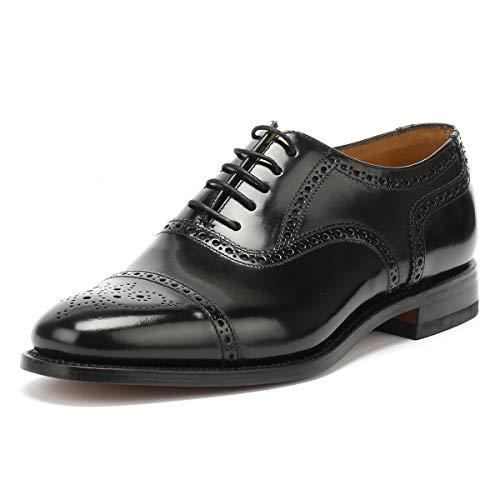 Loake 201B, Herren Klassische Halbschuhe, schwarz, (B Black Polished Leather), EU 42.5, (UK 8.5)