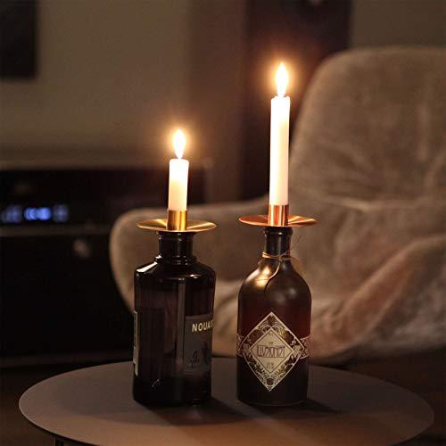 Kerzenständer Cappo - in Messing gebürstet