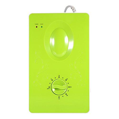 Yosoo - Generador de ozono multifuncional, esterilizador, purificador de aire para el hogar, para limpieza de frutas, verduras, carne - 220 V, 50 Hz, 400 mg/h verde