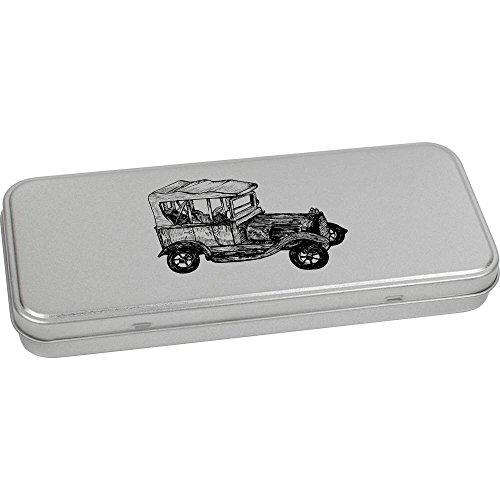 180mm x 75mm 'Voiture Ancienne' boîte de Papeterie métal (TT00036541)