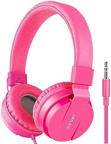 Kids Headphones, Gorsun Lightweight Stereo Wired Children