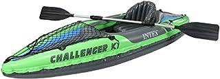 Intex Challenger K1 Inflatable Kayak and Paddle - 68305, Green