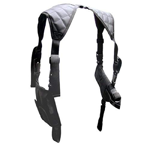 UTG LE Grade Universal Horizontal Shoulder Holster, Black
