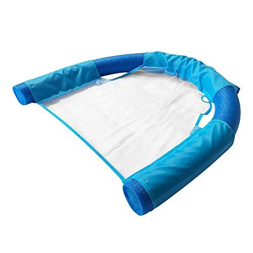 coil.c Luftmatratze Aufblasbar Wassersessel Strandliege Wasserspielzeug Für Das Pool, U-Sitz, Poolsessel Spielzeug Für Erwachsene & Kinder