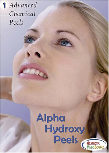 Advanced Chemical Peels, Vol. 1, Alpha Hydroxy Peels - Medical Esthetician Training DVD - Learn How To Apply a Glycolic Acid and Lactic Acid Chemical Peel - Won a Silver Davey Award - Best Video (55 Mins.)