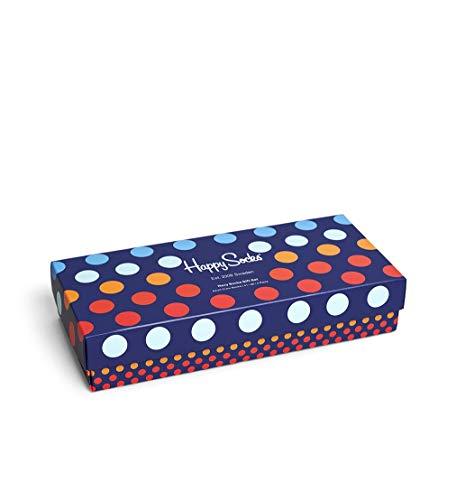 Happy Socks 4 Pack Gift Box Calzini, Multi, 3-7 (36-40) Unisex-Adulto