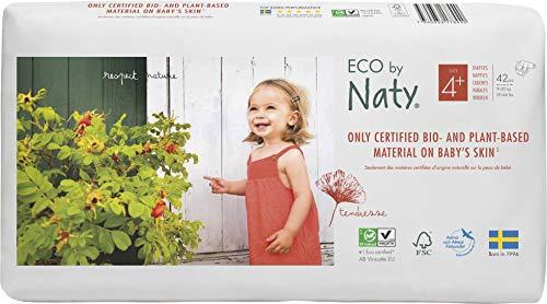Naty Eco Size 4+ (9-20 kg) 84 pcs