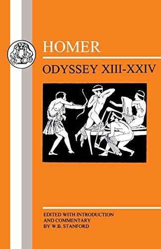 Homer: Odyssey:XIII-XXIV (Greek Texts)