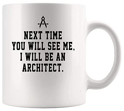 N\A Arquitecto Arquitectura Taza Copa seré Arquitecto Arquitectura 11oz