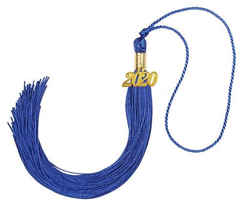 Borla de formatura acadêmica GraduationForYou com pingente de 2019 anos, disponível para 14 cores 2018 Royal Blue