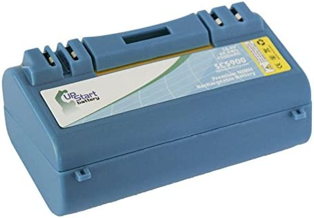 Replacement 2020新作 for iRobot Scooba 34001 Comp Capacity - High 期間限定 Battery
