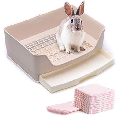 CalPalmy Large Rabbit Litter Box