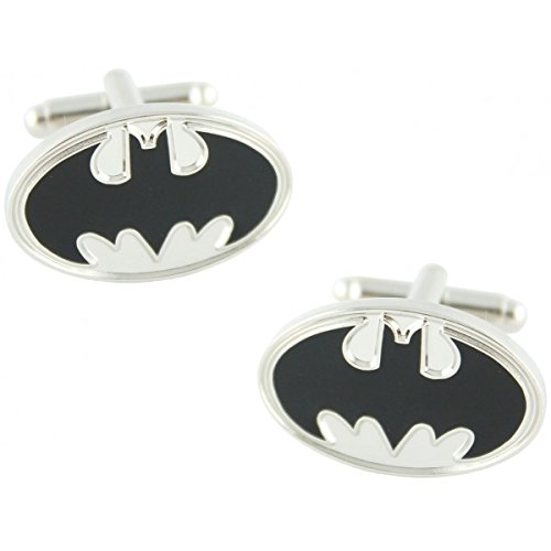 MasGemelos Manschettenknöpfe Batman Silber Cufflinks