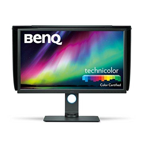BenQ 9H.LFVLB.QBE SW320 80,01 cm (31,5 Zoll) Monitor (4K, 3840 x 2160 Pixel, IPS Panel, 5 ms, Display-Port, USB, HDMI, VESA) schwarz