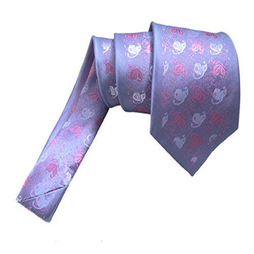 Y-WEIFENG Cravate en Soie pour Hommes Cravate en Soie pour...