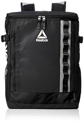 [リーボック] リュック メンズ レディース リュックサック 大容量 カジュアル ブランド 防水 撥水 22l a4サイズ 通学 通勤 旅行バッグ 軽量 ロゴ 黒 ブラック ARB1019 F