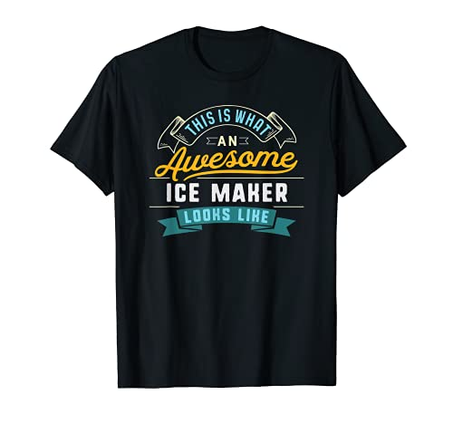 T-shirt amusant pour machine à glaçons - Idéal pour l'obtention d'un diplôme T-Shirt