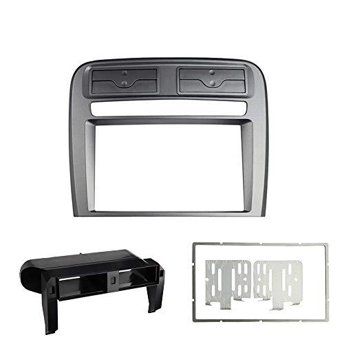 Maxiou - Mascherina per autoradio a doppio DIN per Fiat Grand Punto 2005-2009 Stereo DVD cruscotto, adattatore pannello