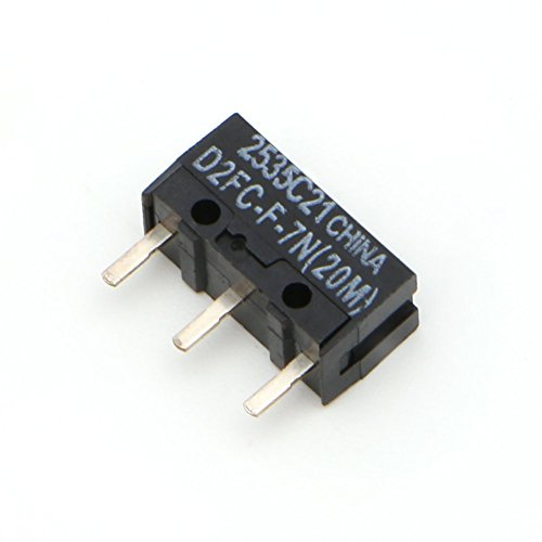 おまけ付き5個+1個セット! オムロン(OMRON) D2FC-F-7N(20M) D2F-01F互換品 マイクロスイッチ SHINAX品質保証付