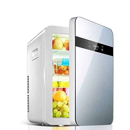 Bebidas Refrigeradores Mini refrigerador Cuidado de la piel20L Compacto Mini refrigerador: ideal para dormitorio u oficina.Botellas de almacenamiento, latas, fluidos de belleza, humectantes y cosmétic