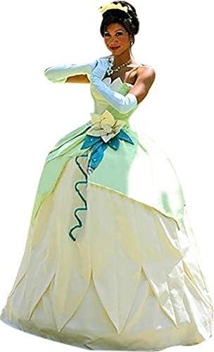 Adult princess tiana costume _image1