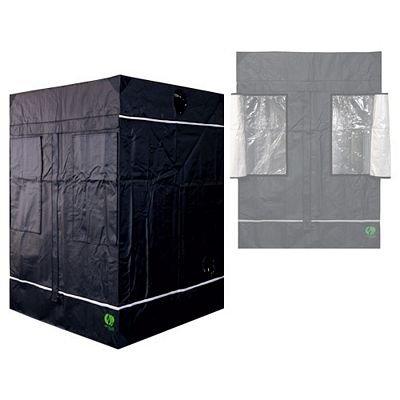 Growlab 40 60 80 80L 100 120 120L 145 Grow-box (GL145 145x145x200cm) Grow-room Growschrank Grow-zelt Darkroom verschiedene Größen Pflanzen-zelt Grow Gewächshaus Indoor Zuchtzelt Eastside Impex