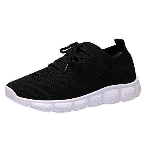 LILIHOT Herren Socken Schuhe leichte atmungsaktive Fliegende gewebte Sportschuhe Laufschuhe Herren Laufschuhe Sportschuhe Freizeitschuhe Mesh leichte Sportschuhe