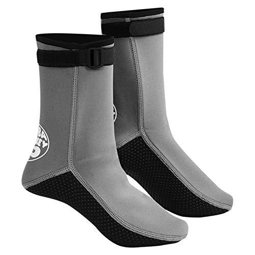 N-B 3MM Buceo Calcetines Botas Antideslizante Zapatos de Natación Aletas Buceo Caliente Zapatos de Playa Natación Calcetines de Buceo Botas de Surf