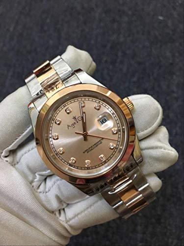 Brandless Freizeituhren Automatik Mechanisch Damen Lady Datejust Edelstahl Saphir Silber Roségold Diamant Rom Schwarz Uhr 31mm 3